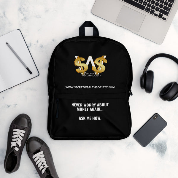"SWS - Backpack ""Ask Me How"""