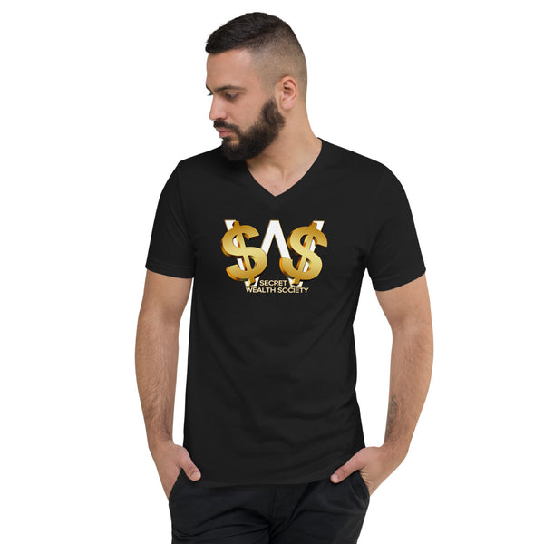 SWS - Men Short Sleeve V-Neck T-Shirt