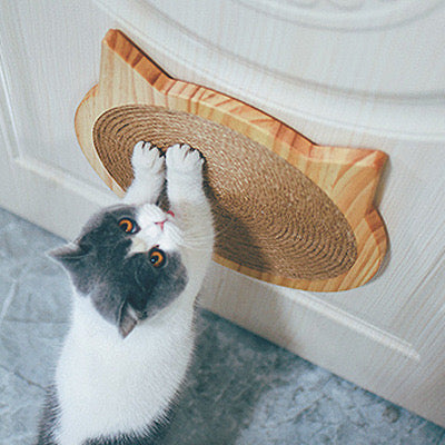 Wood Scratcher Pad Furniture Protect Board Cat Scratching Post