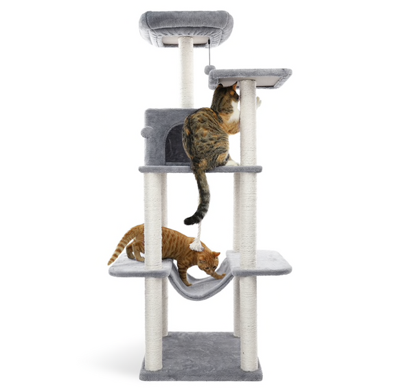 Cat's Tree Tower Sisal Scratching Post Kitten