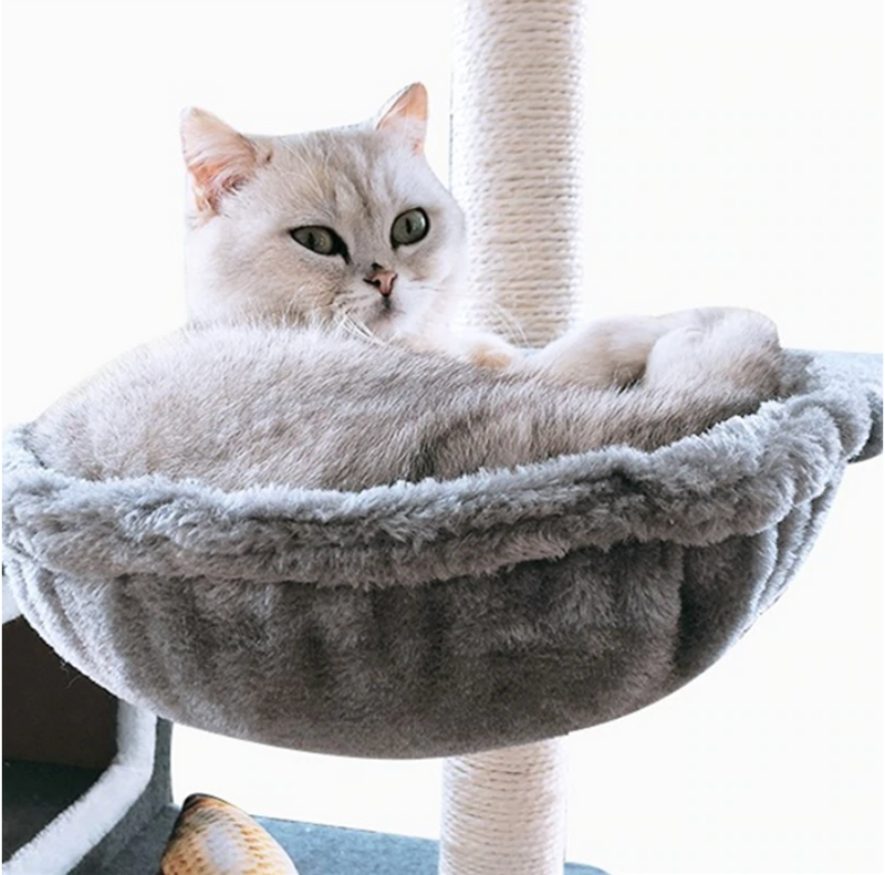 DIY Cat Tree Nest Cat Tree Basket Cat Hammock Bed