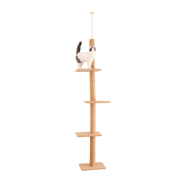 Cat Scratching Climbing Tree Kitten Toy Furniture