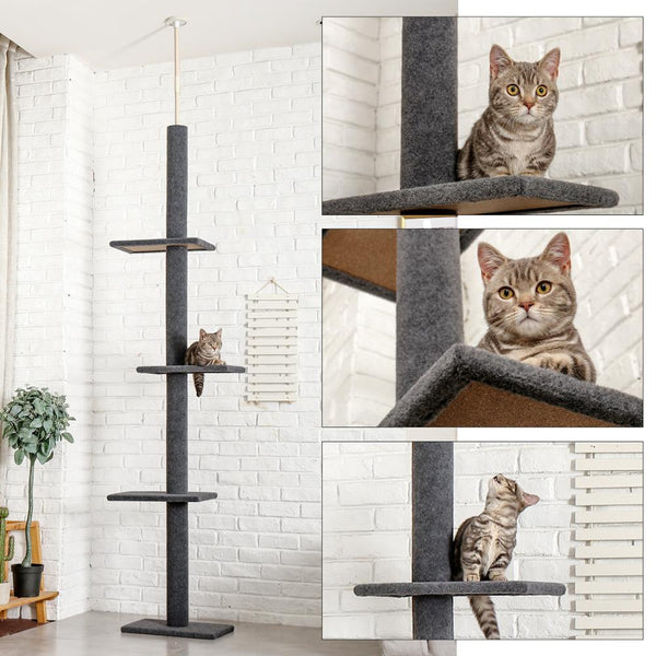 Cat Scratching Climbing Tree Cat Toy Protecting Furniture