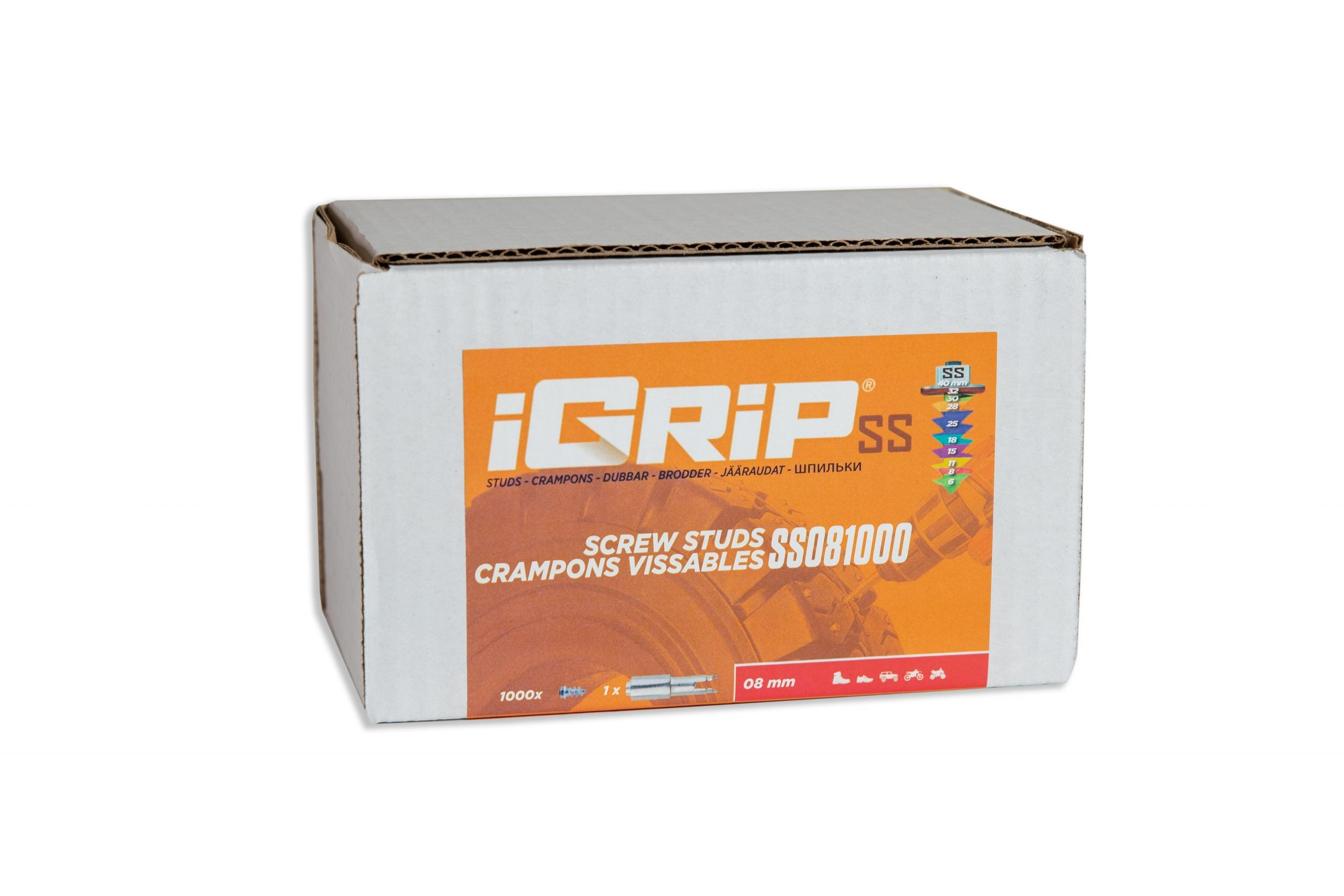 SS-08 iGrip Shouldered Tire Studs