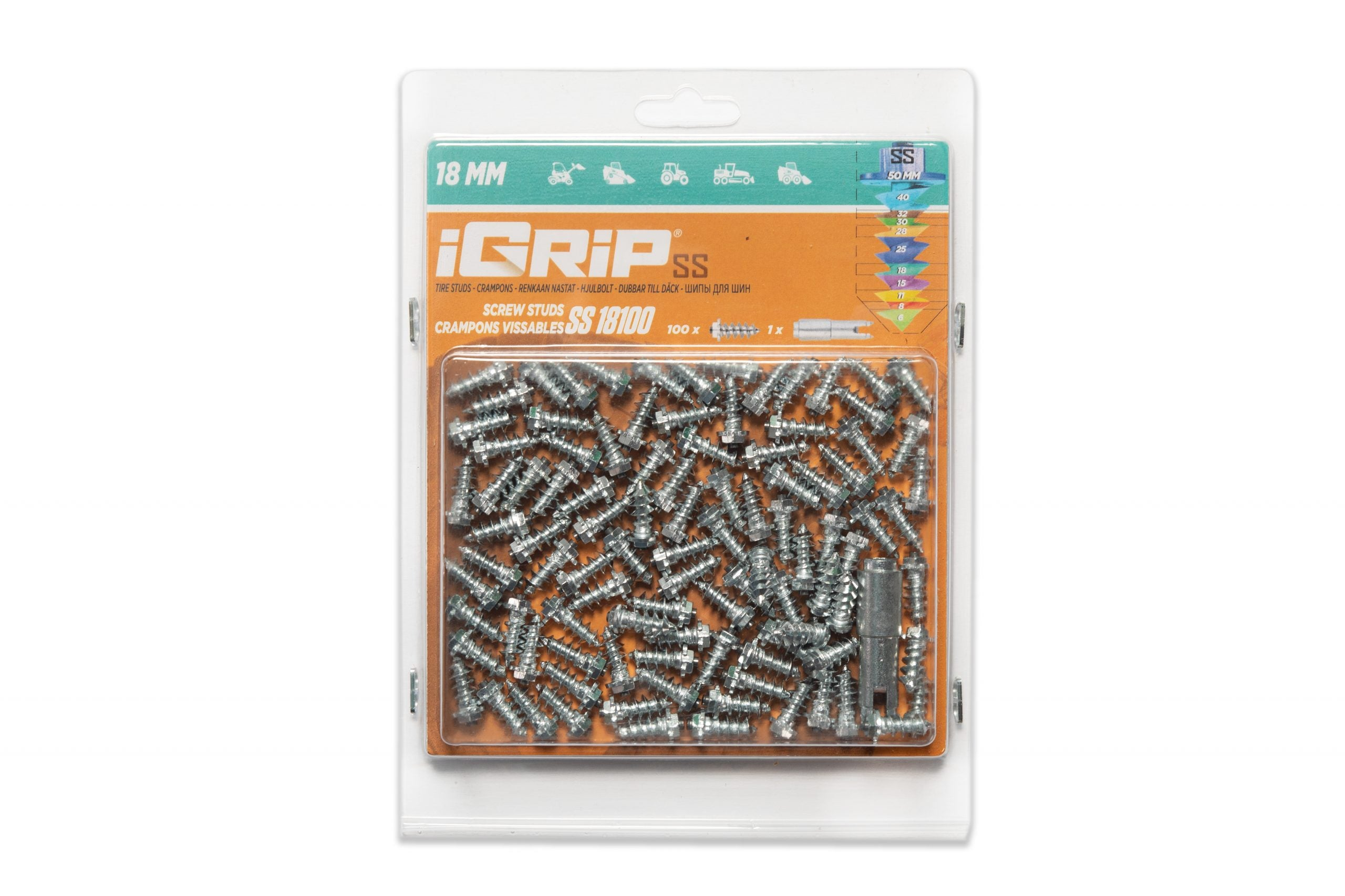 SS-18 iGrip Shouldered Tire Studs