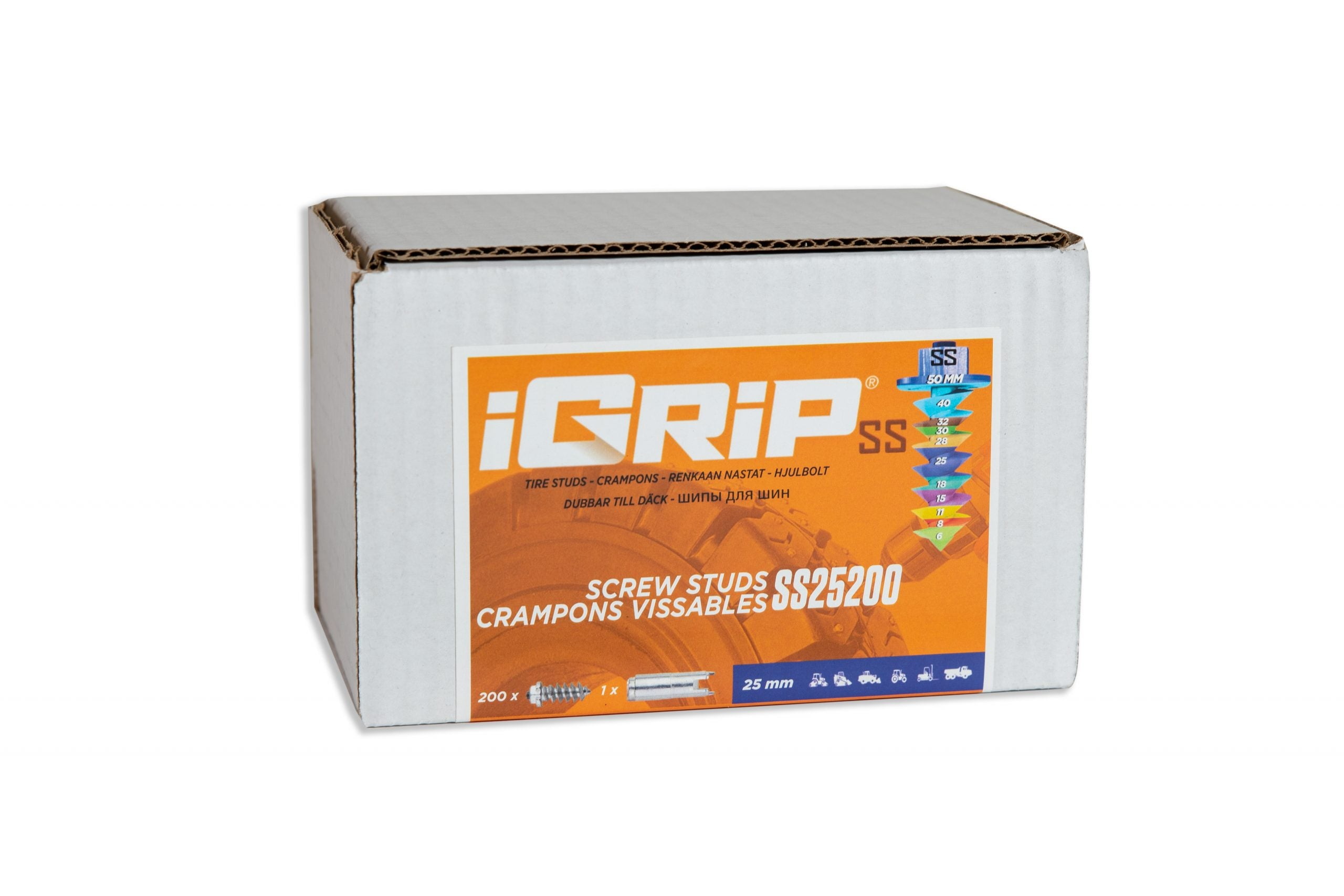 SS-25 Shouldered iGrip Tire Studs