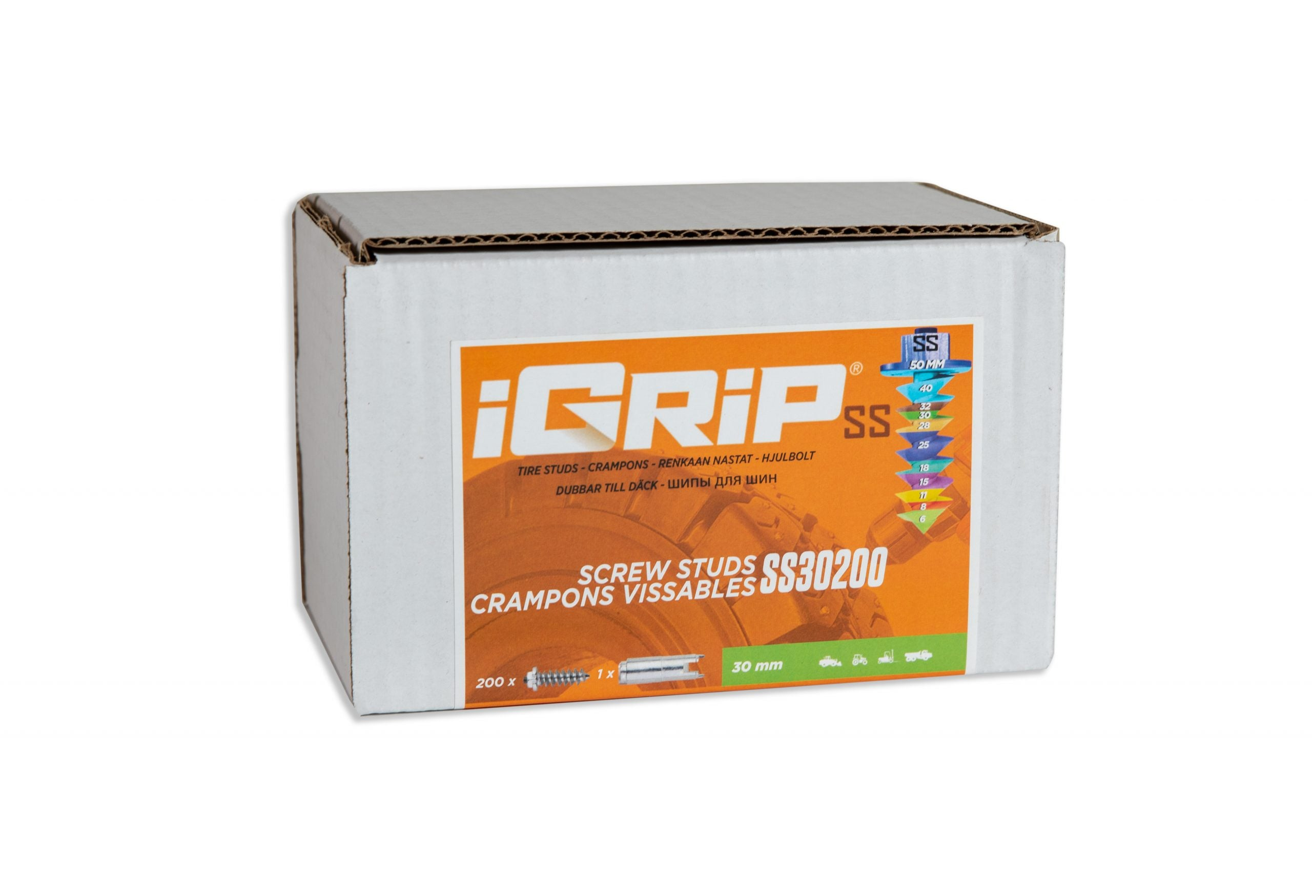SS-30 Shouldered iGrip Tire Studs