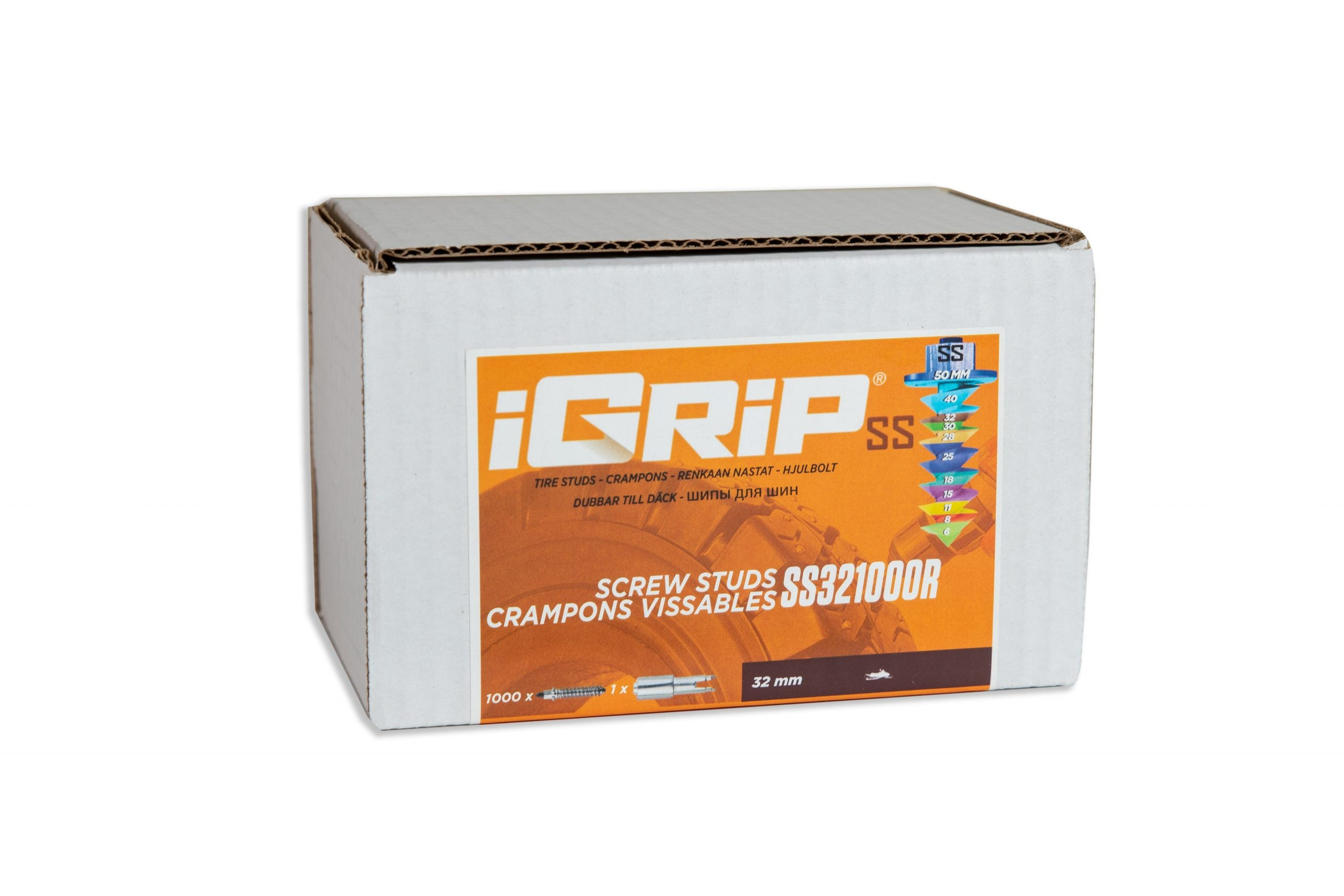 SS-32R iGrip Shouldered Racing Tire Studs