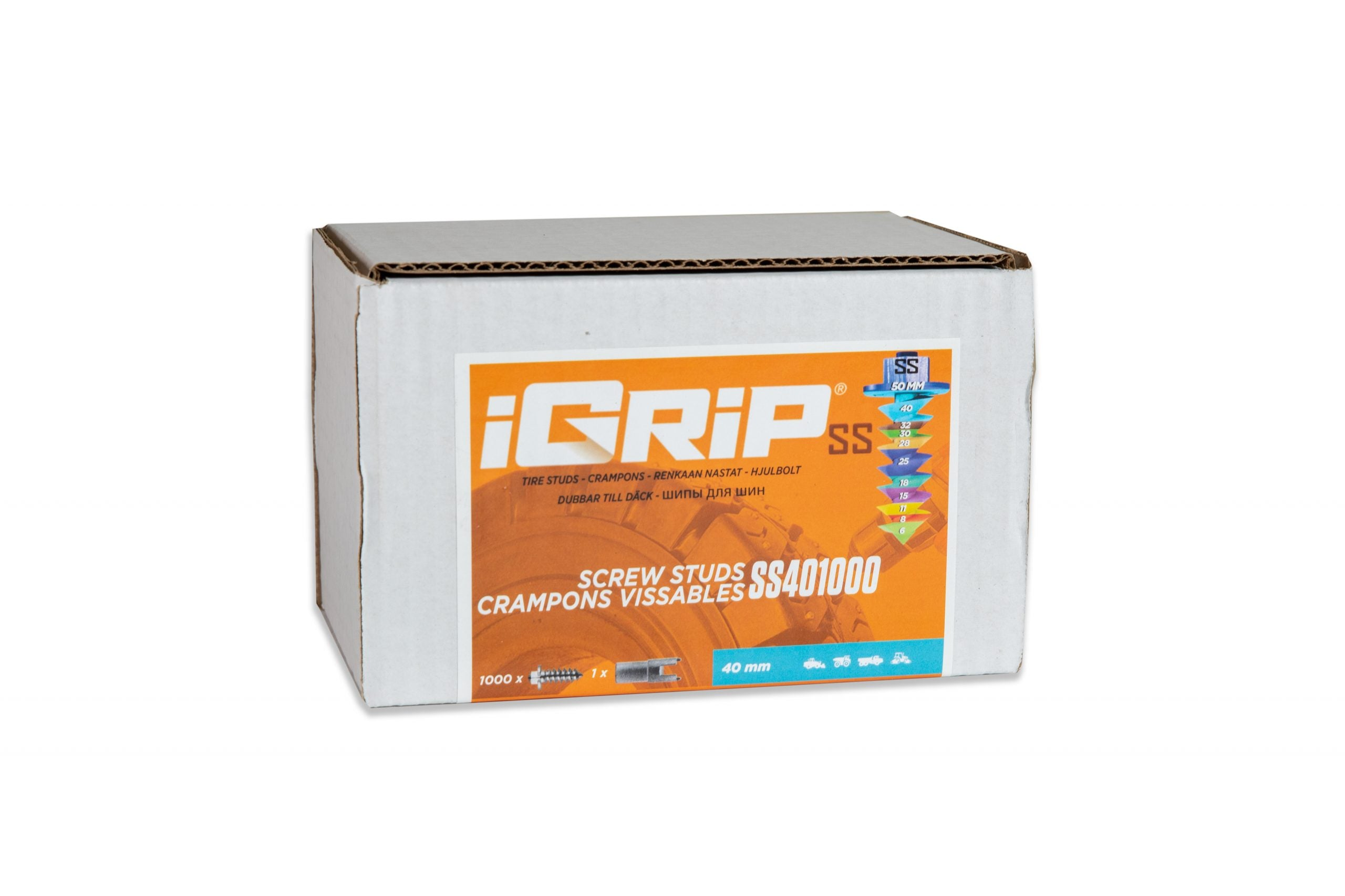 SS-40 Shouldered iGrip Tire Studs