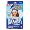 KOOL'N'SOOTHE Migrane & Headache Relief Strips 6 Sheets