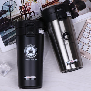 380ml Portable Travel Coffee Mug