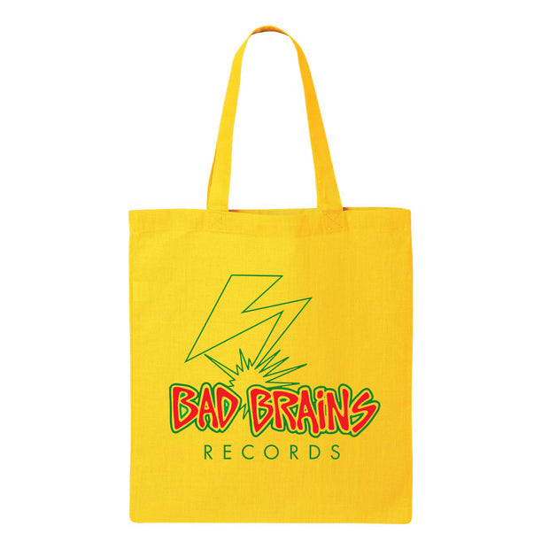 Bolt Logo Yellow Tote Bag