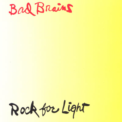 Rock For Light CD