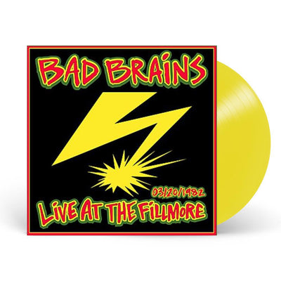 Live At The Fillmore 1982 Color Vinyl LP