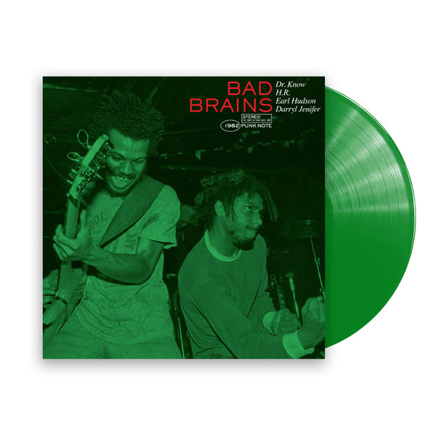 """Bad Brains"" (Punk Note Edition) Color Vinyl LP"