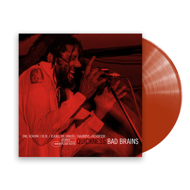 Quickness (Punk Note Edition) Color Vinyl LP