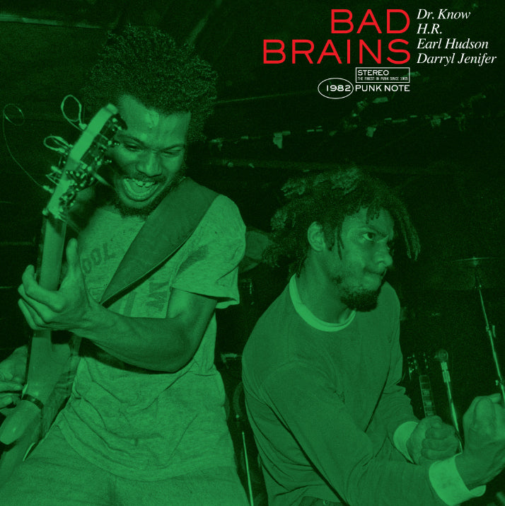 Bad Brains (Punk Note Edition) Color Vinyl LP