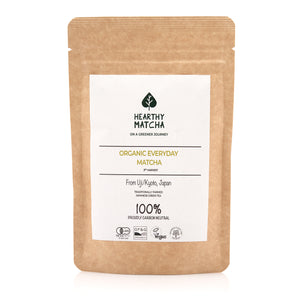 Organic Everyday Hearthy Matcha - 50g - (UJI, KYOTO)