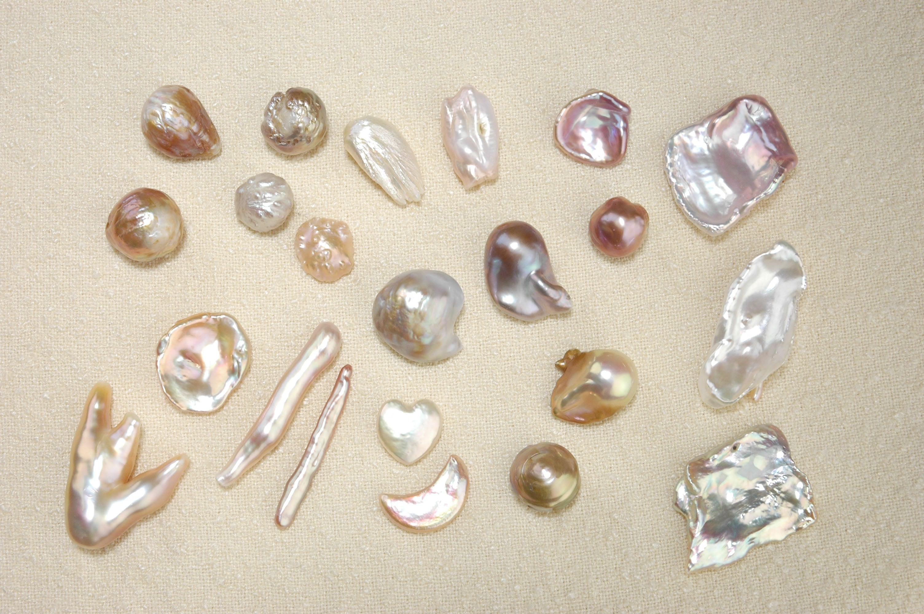 Pearl types