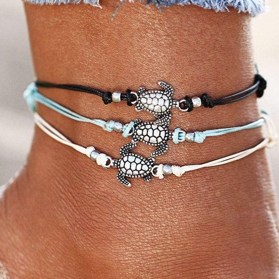 Dainty Turtle Anklet