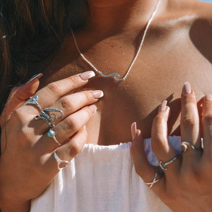 Beach necklace for outfit