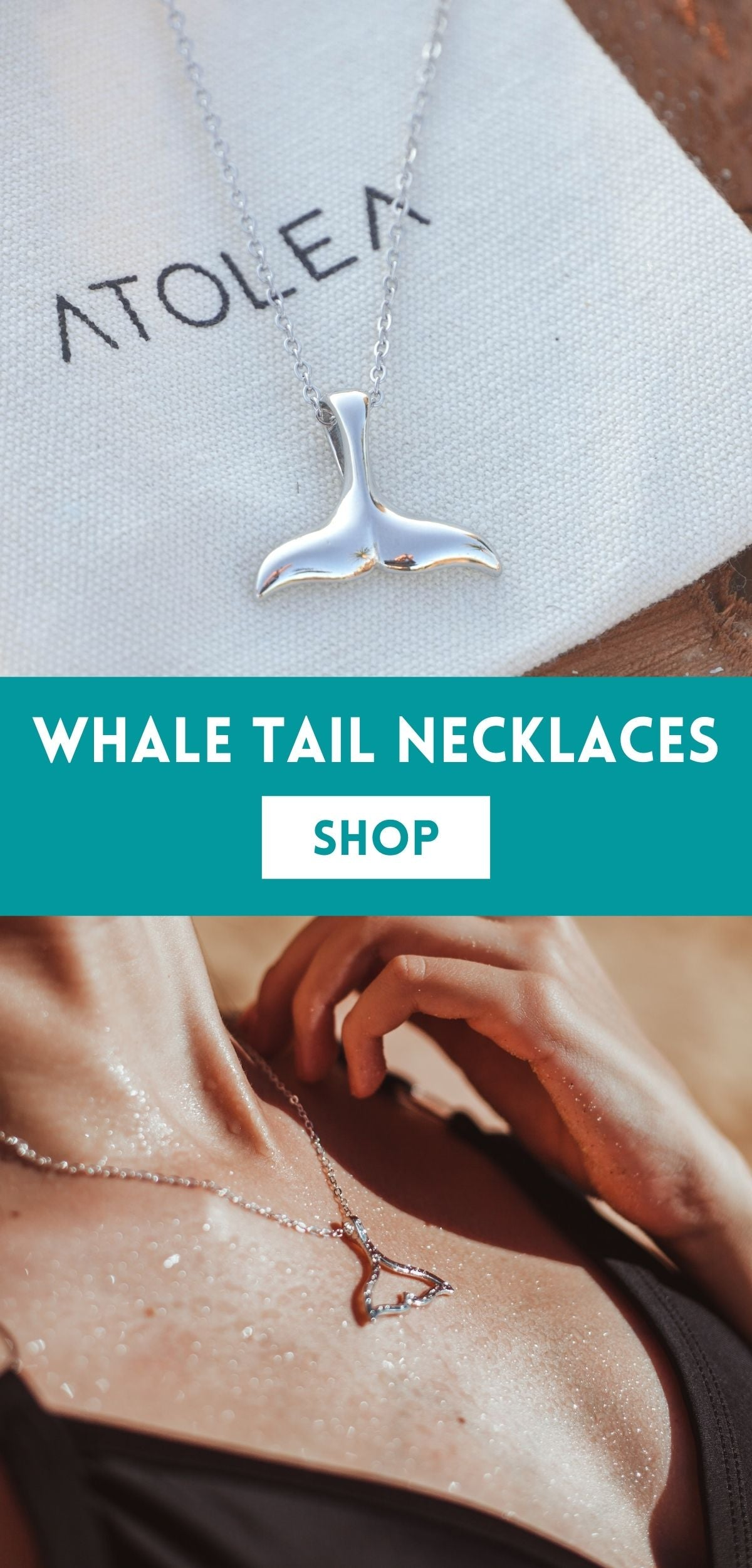 Whale tail necklaces meaning