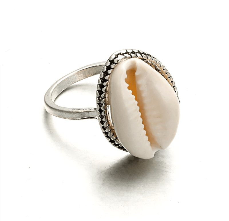 Cowrie Ring-Atolea Jewelry