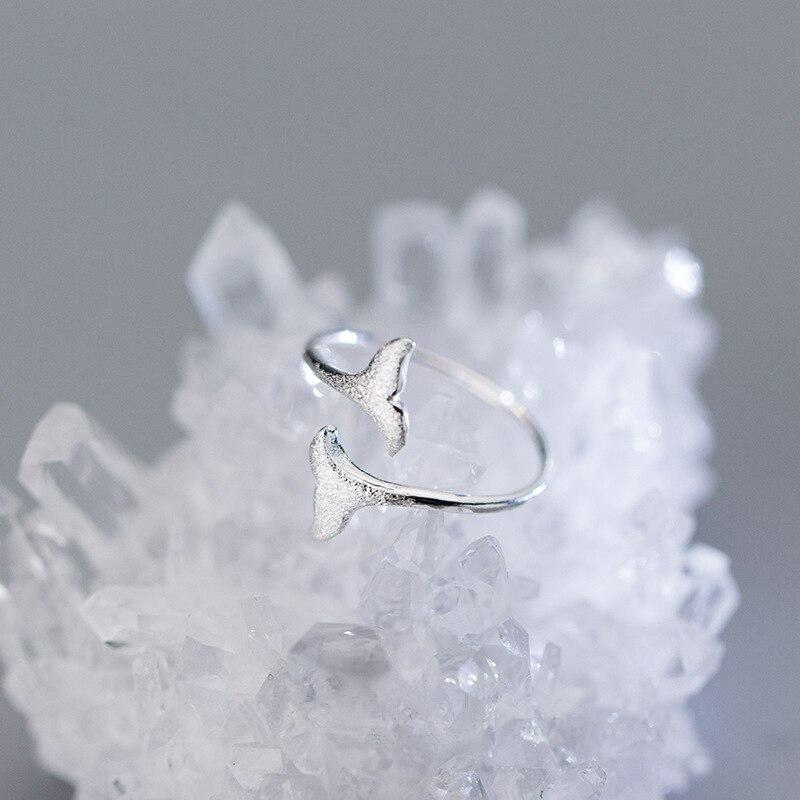 Dolphin Tail Ring-Atolea Jewelry