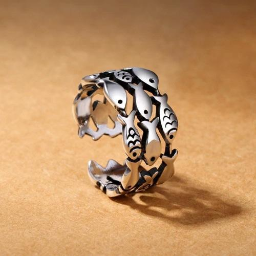 Fish Ring-Atolea Jewelry
