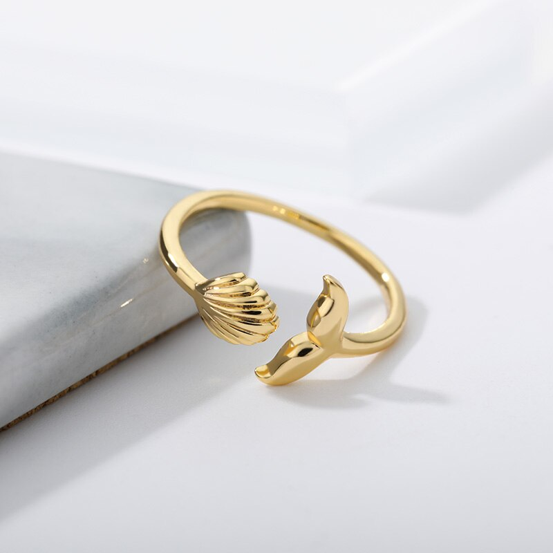 Gold Island Ring