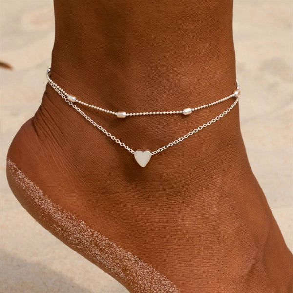 Love Anklet-Atolea Jewelry