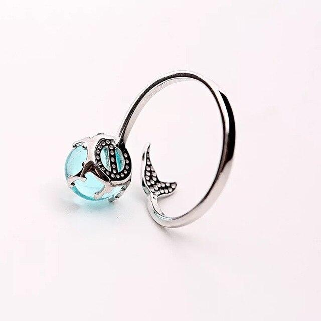 Mermaid Tail Ring-Atolea Jewelry