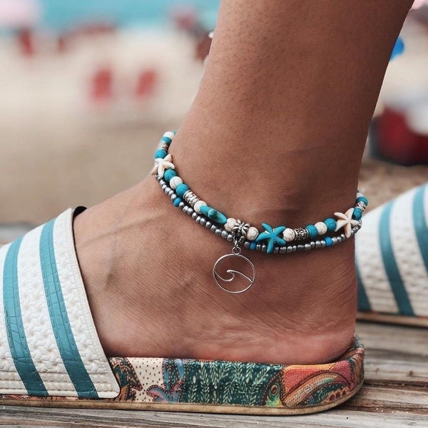 Ocean Anklet-Atolea Jewelry