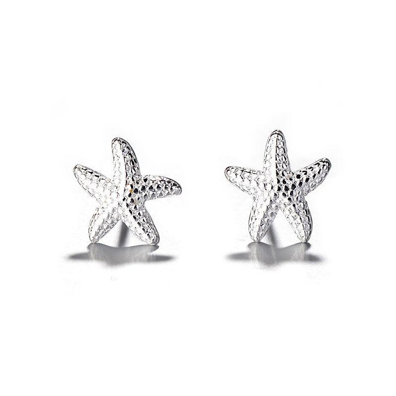 Starfish Earrings-Atolea Jewelry