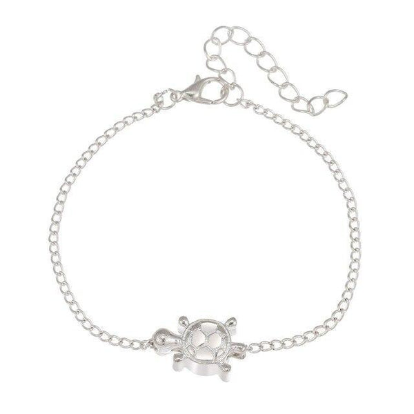 Turtle Anklet-Atolea Jewelry