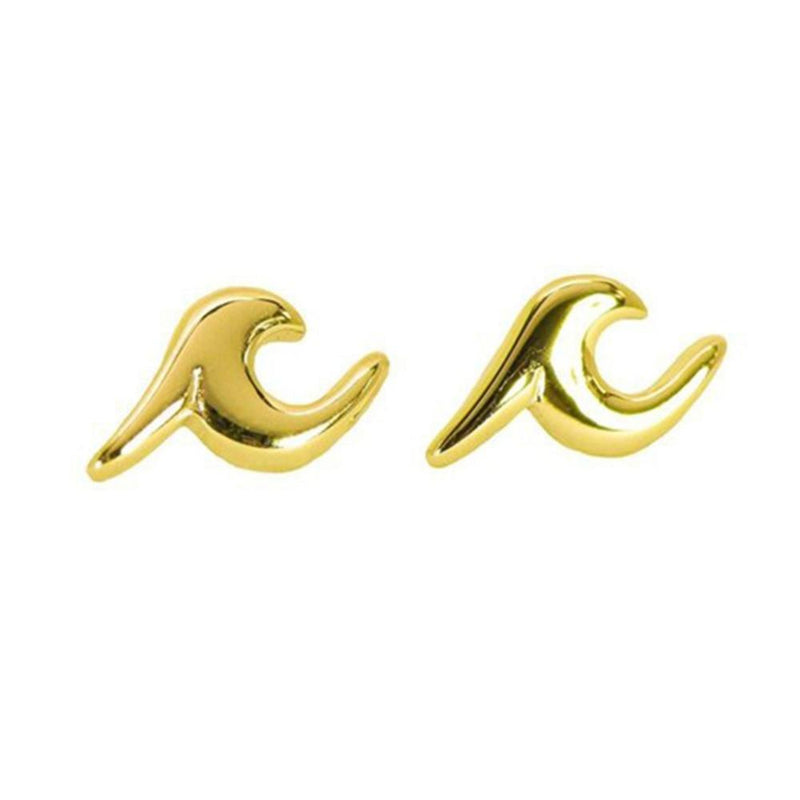 Wave Earrings-Atolea Jewelry