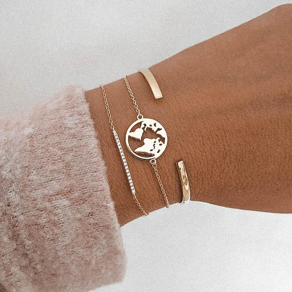 World Bracelet-Atolea Jewelry