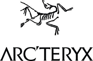 Arcteryx with company logo