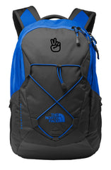 North Face backpack with company logo