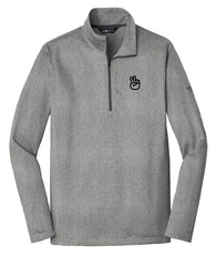 North Face pullovers with company logo