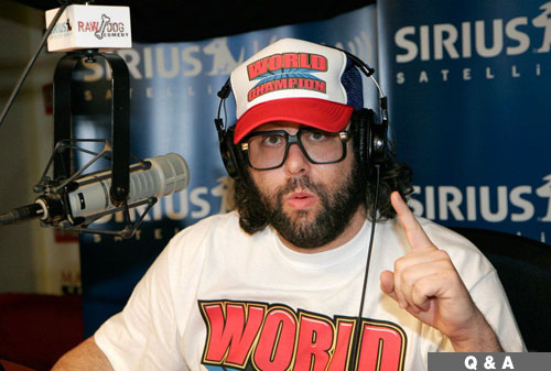 Judah Friedlander on Radio Show