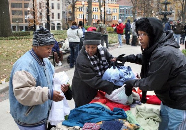 Donating Clothes to the Homeless