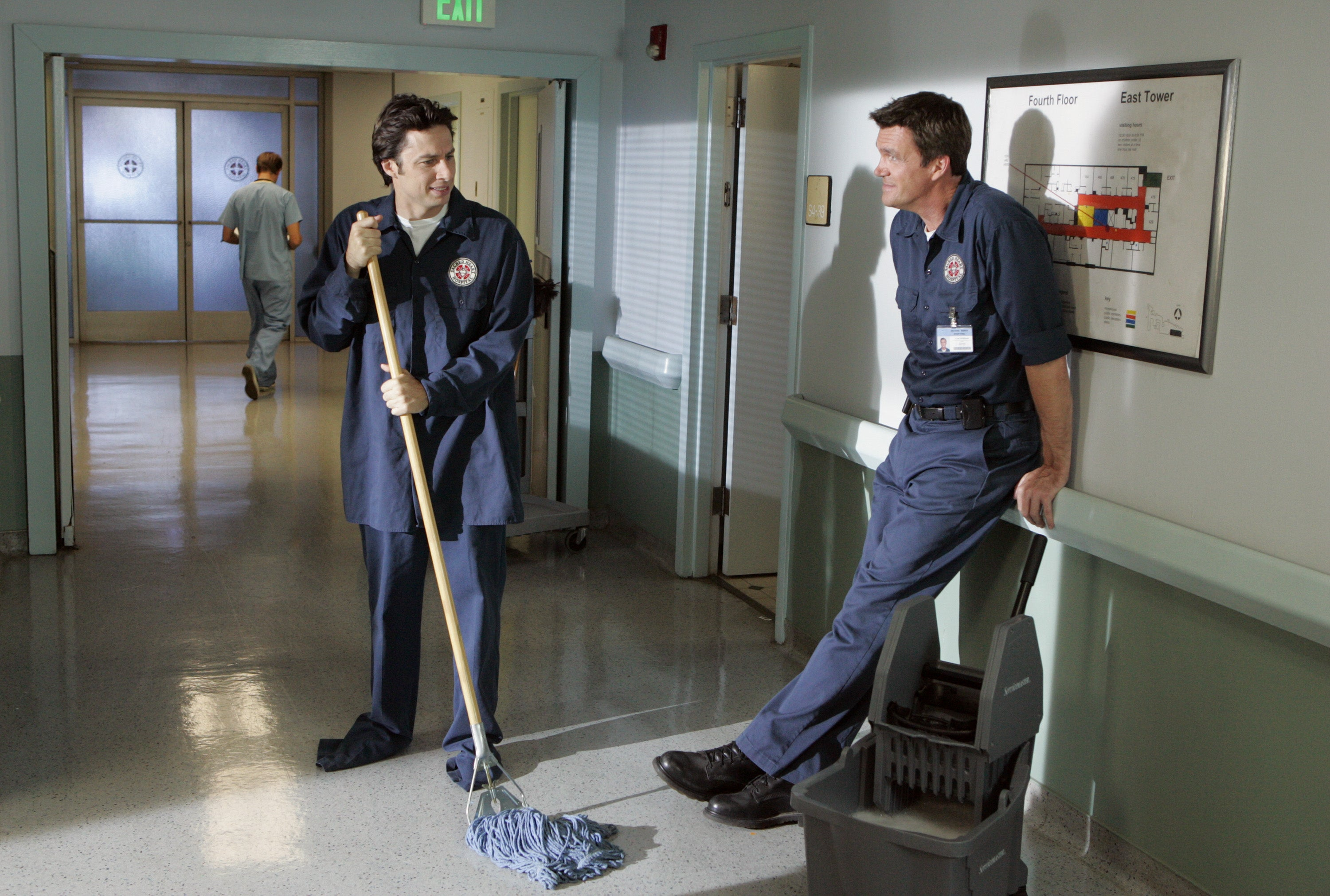 Janitors from Scrubs