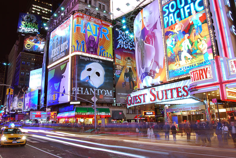 Times Square Advertisements