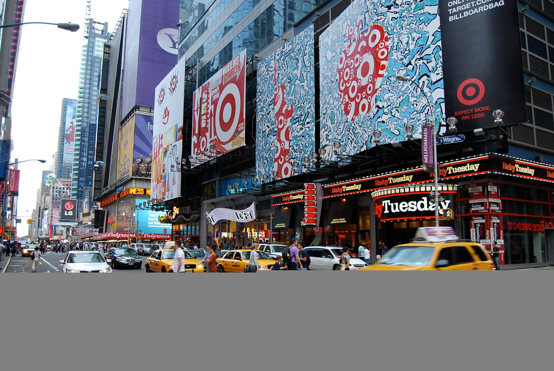 Target Billboards at Times Square