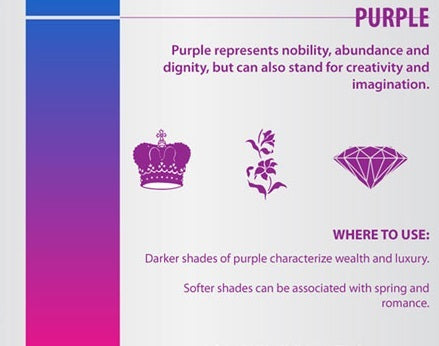 The Psychology of Color: Purple