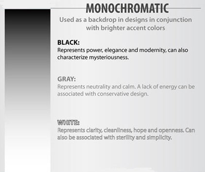 The Science of Colors: Black, White and Grey
