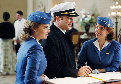 Pilot and Stewardesses