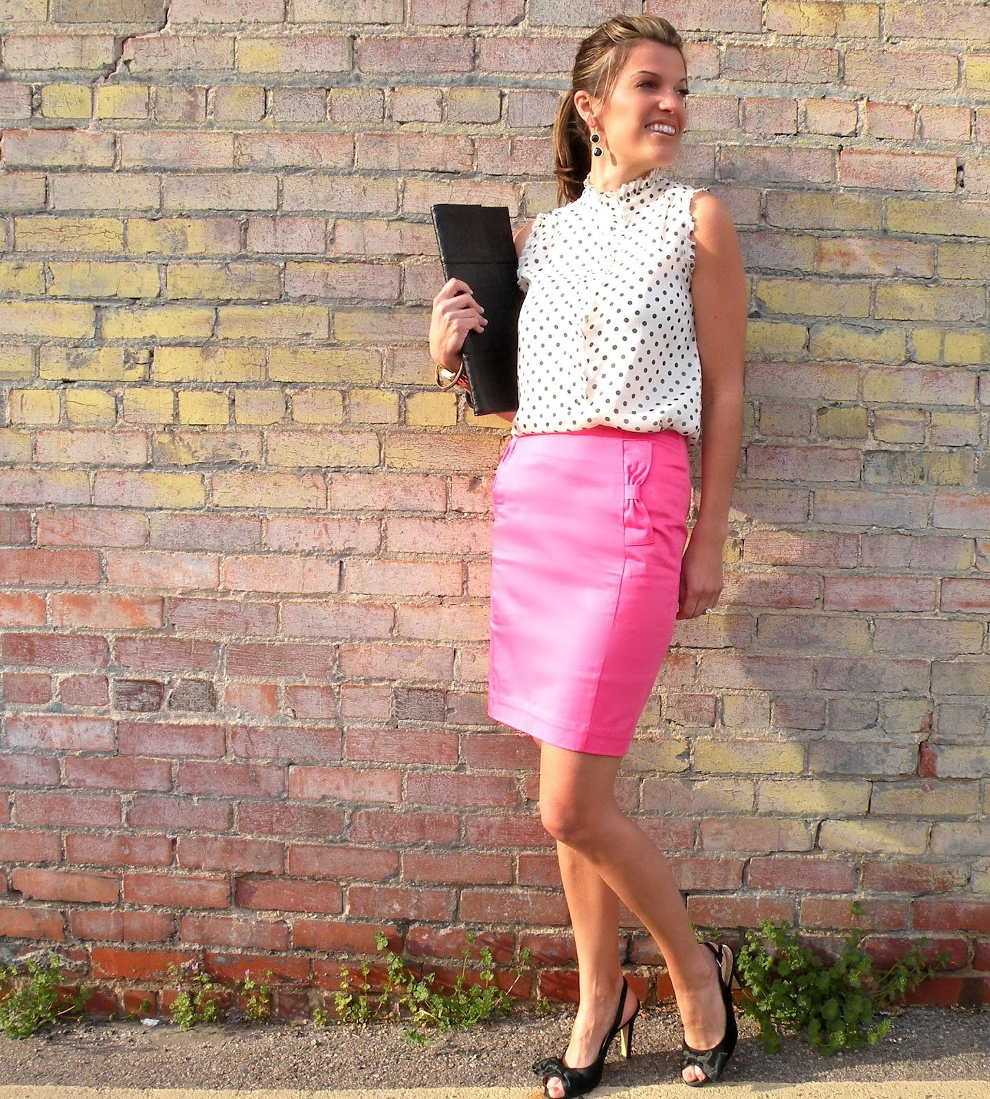 Pastel Pink Work Outfit