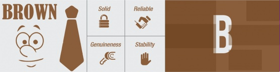 Brown Infographic
